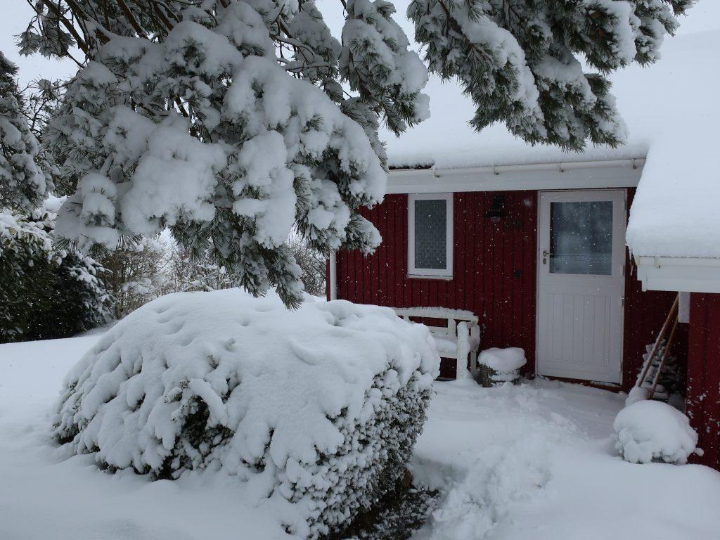 Winterwonderland Holzapfelhaus